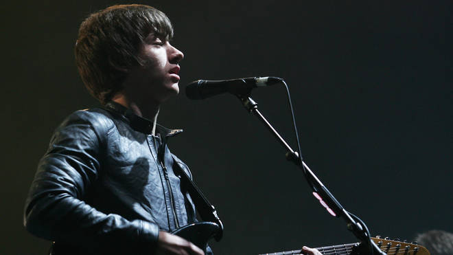 Alex Turner of the Artic Monkeys performs live on stage during the Splendour in the Grass festival at Belongil Fields August 5, 2007