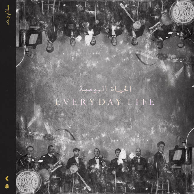 Coldplay's Everyday Life album artwork