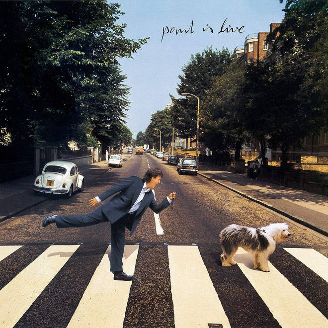 Paul McCartney - Paul Is Live album cover