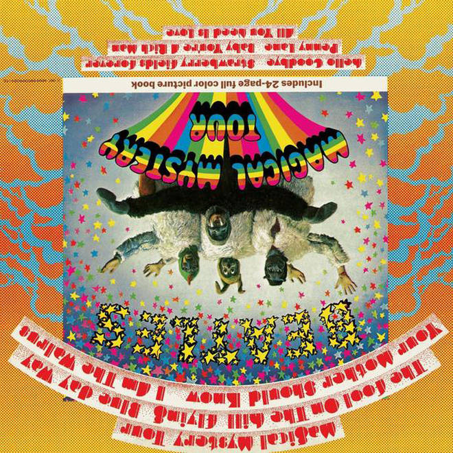 The Beatles - Magical Mystery Tour album cover