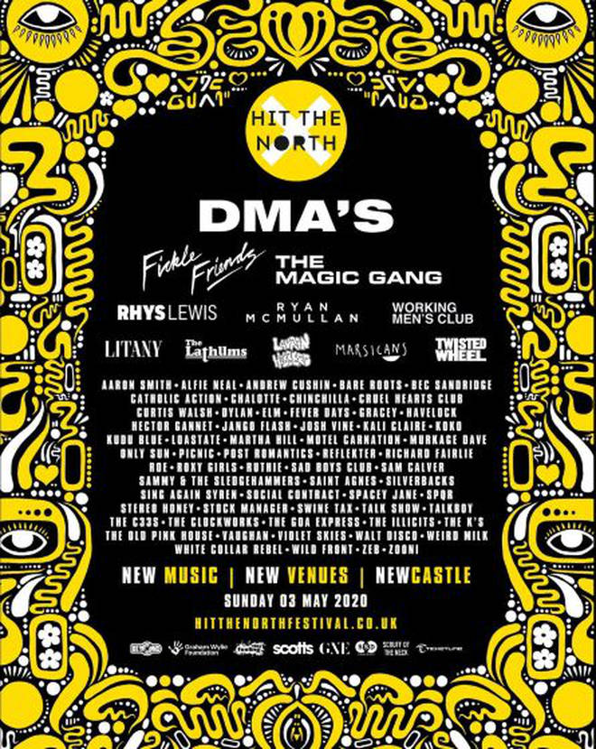 DMA'S to headline Hit The North festival 2020