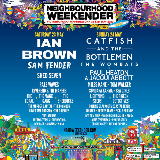 Neighbourhood Weekender 2020 line-up
