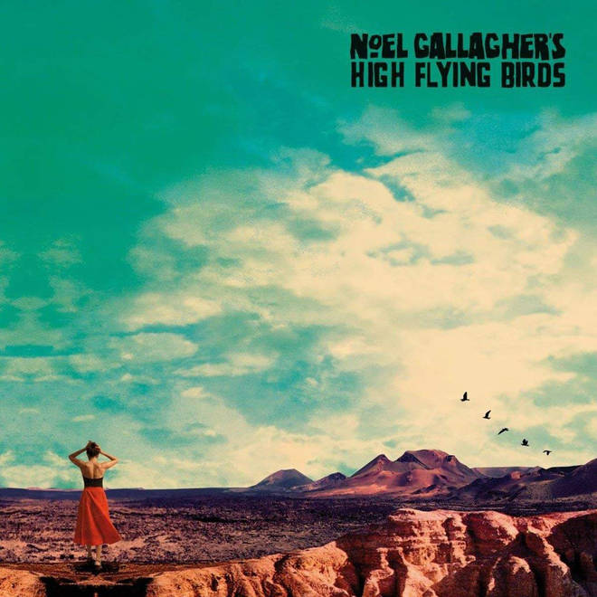 Noel Gallagher's High Flying Birds - Who Built The Moon, album cover
