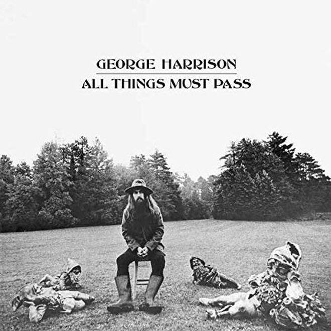 George Harrison - All Things Must Pass album cover artwork