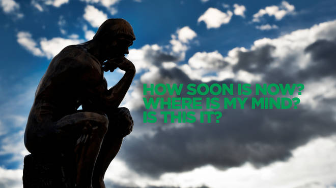 Rodin's Thinker pondering the big questions in music