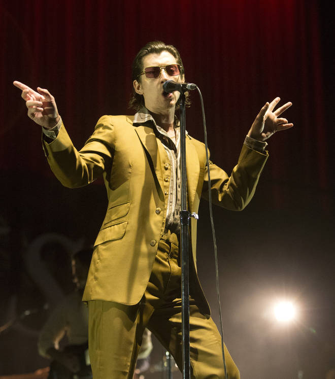 Arctic Monkeys' Alex Turner at Firefly Festival 2018