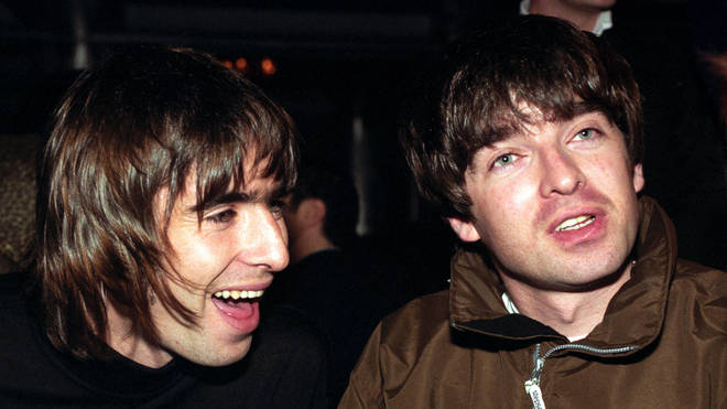 Liam and Noel Gallagher in 1996