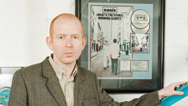 Alan McGee, co owner Creation Records label, and manager of Oasis, pictured at his office, 24th March 1997.