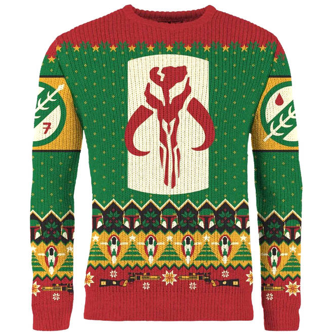 Star Wars: Merry Mandalorian Knitted Christmas Sweater