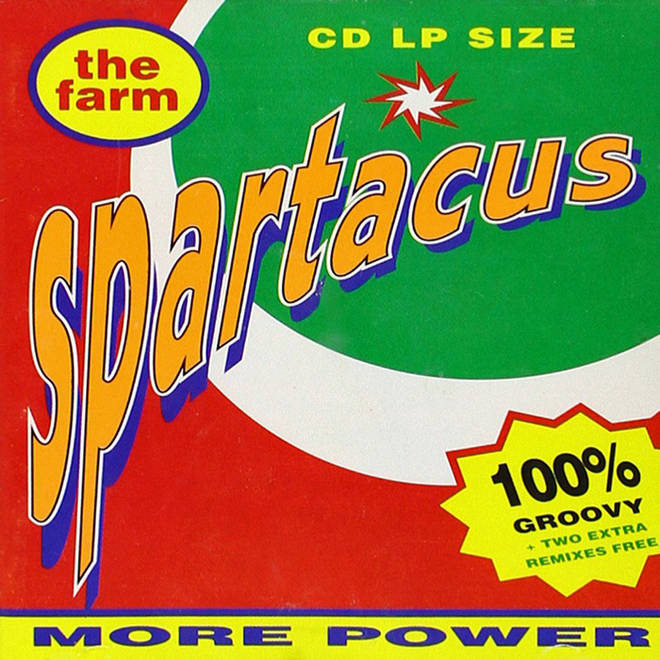 The Farm - Spartacus album cover