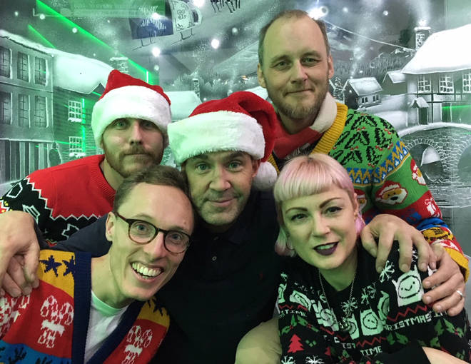 The Johnny Vaughan 4 Til 7 Thang at Christmas