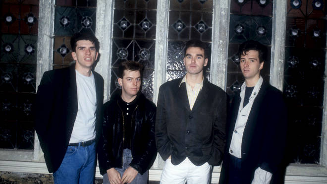 The Smiths in March 1987: Mike Joyce, Andy Rourke, Morrissey and Johnny Marr