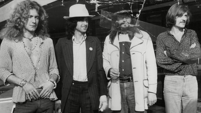 Led Zeppelin: Robert Plant, Jimmy Page, John Bonham and John Paul Jones