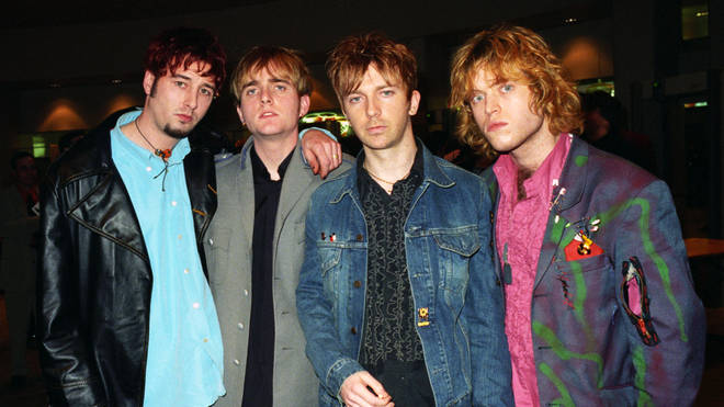 Mansun at the BRIT Awards 1997