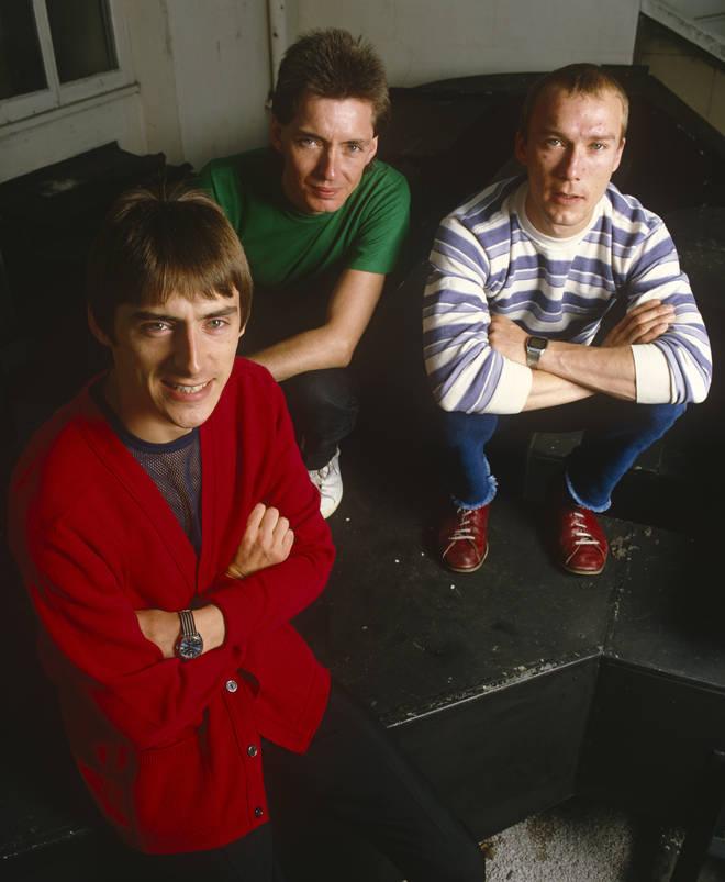 The Jam in 1980: Paul Weller, Bruce Foxton and Rick Buckler
