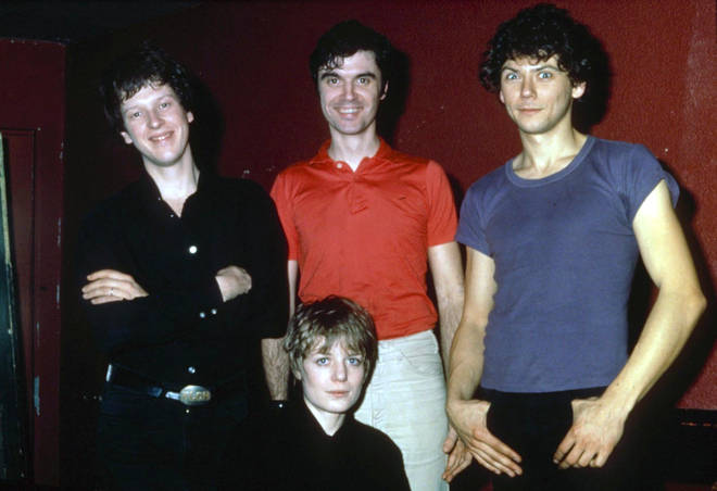 Talking Heads in 1978: Chris Frantz, Tina Wemouth, David Byrne and Jerry Harrison